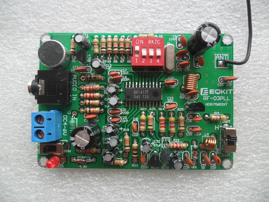 ชุดคิทเครื่องส่ง FM BH1417F มีไมค์ในตัว (14 ช่องความถี่)