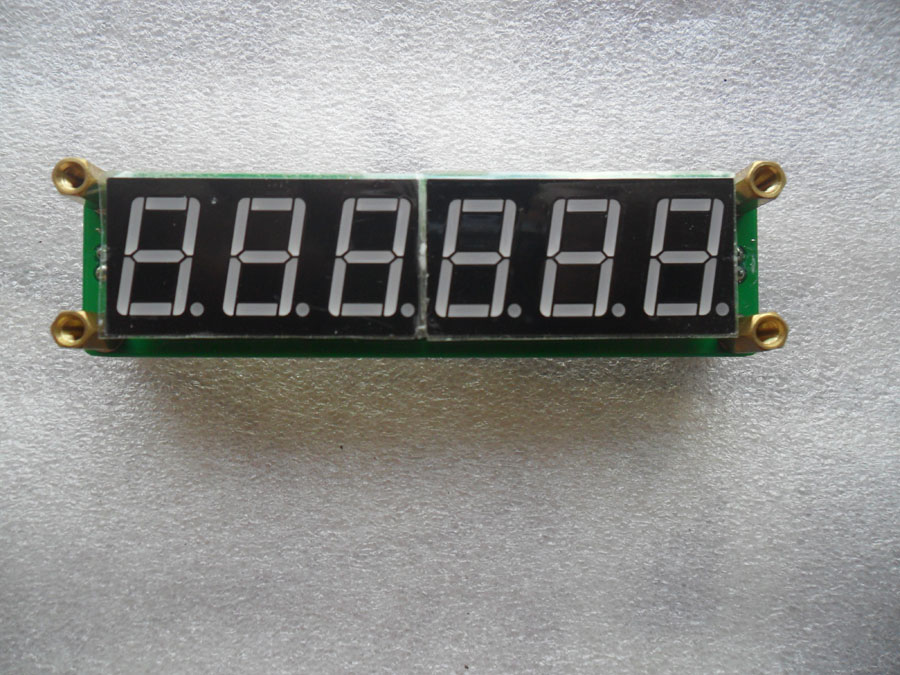 วงจรนับความถี่ 0.1MHz~65MHz รุ่น PLJ-6LED-A