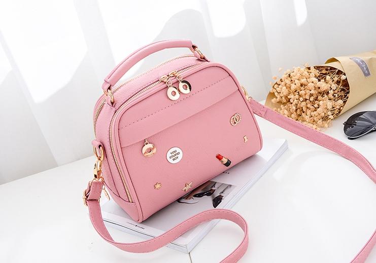 กระเป๋าถือ Maple (pink)