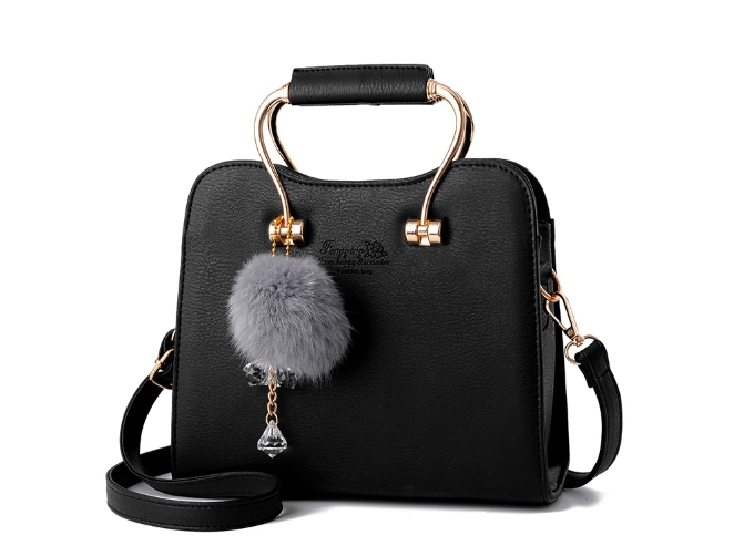 กระเป๋าถือ miner (black)
