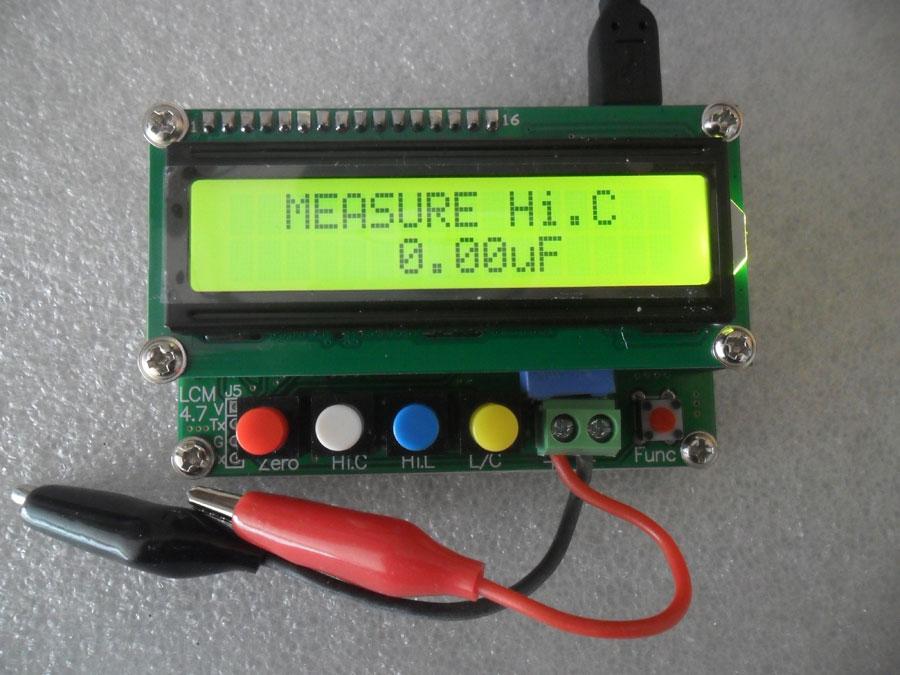 เครื่องวัด LC รุ่น LC100A + สาย USB วัด LC ค่าต่ำได้