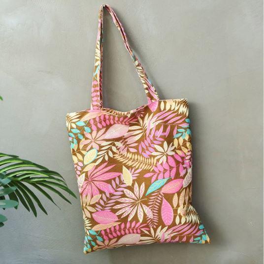 กระเป๋าผ้า Pepper Pink indy