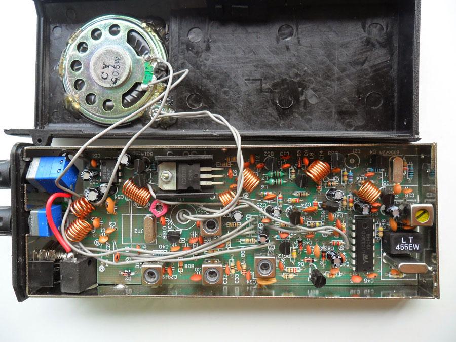 ชุดคิทวิทยุรับส่ง 29.6 MHz 1 ช่อง