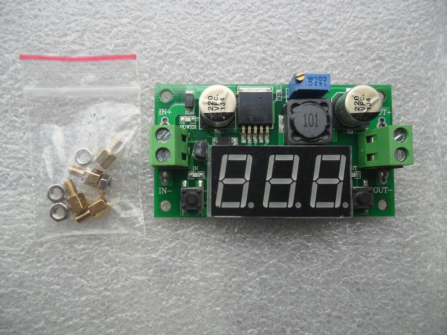 วงจรแปลงไฟลงขนาด 3A ไฟเข้า 4-40V ไฟออก 1.25V-37 V
