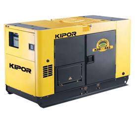 เครื่องกำเนิดไฟฟ้าเครื่องยนต์ดีเซล ขนาด 26 KVA KIPOR #KDE30SS3 Diesel Generator 26 KVA 380V. super silent