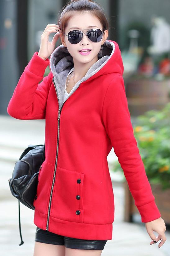 เสื้อกันหนาวสีแดง