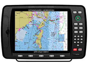 "GPS Plotter 10.4"" Color Screen Model CP1000C"