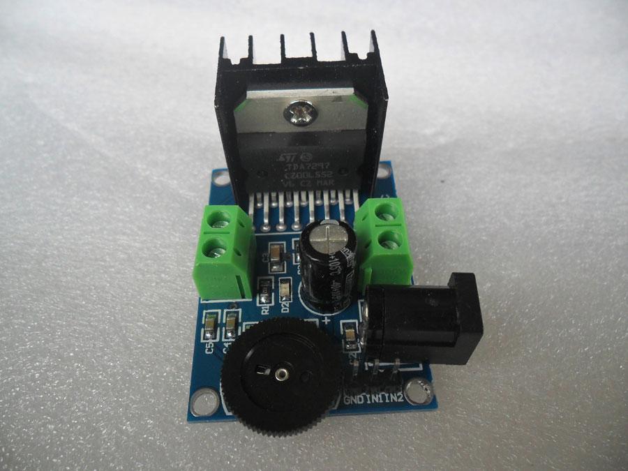 วงจรขยายเสียงขนาดเล็ก 15+15วัตต์ IC TDA7297