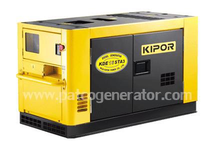 เครื่องกำเนิดไฟฟ้าเครื่องยนต์ดีเซล ขนาด 15 KVA KIPOR #KDE16STA3 Diesel Generator 15 kva 380v. silent type