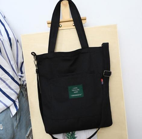 กระเป๋าผ้า LD001 black