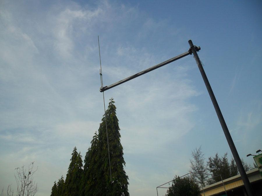 สายอากาศสำหรับเครื่องส่ง FM 88-108 ทำจาก สแตนเลส