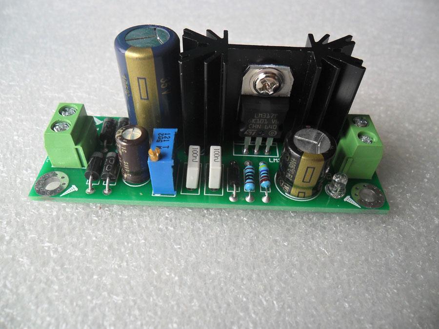 วงจร Regulator แบบ linear ใช้ IC เบอร์ LM317