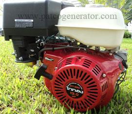 """เครื่องยนต์เบนซินอเนกประสงค์ """"ไททอง"""" #GT390E ขนาด 13 HP กุญแจสตาร์ท (Gasoline engine for multi purpose """"taitong""""#GT390E 13 HP KEY START)"""
