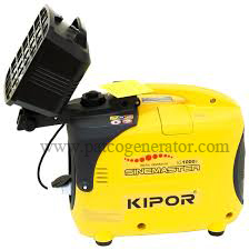"""เครื่องกำเนิดไฟฟ้าเครื่องยนต์เบนซิน 1 KVA มีสปอร์ตไลท์ """"KIPOR""""#IG1000S (PORTABLE GASLOLINE GENERATOR """"KIPOR"""" # IG1000 1 KVA with sportlight)"""