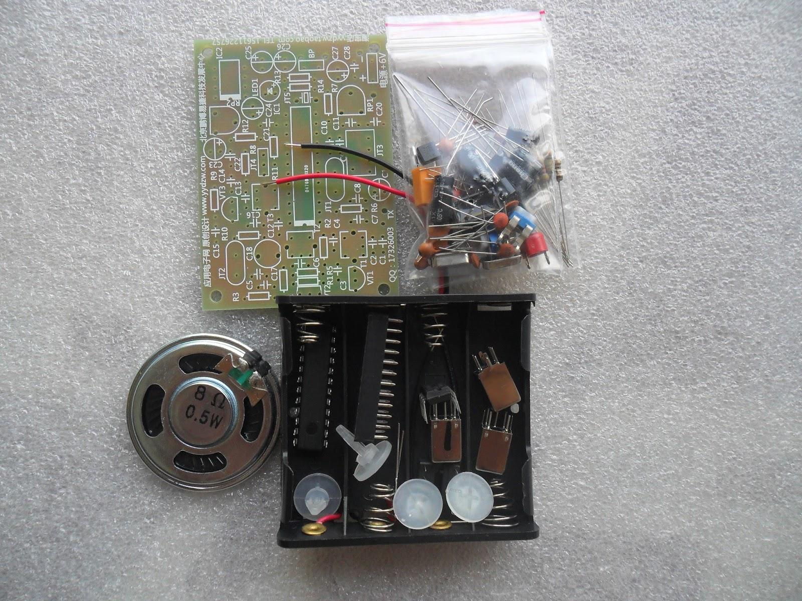 ชุดคิทวิทยุ รับ - ส่ง 1 ช่องความถี่ เพื่อการทดลอง