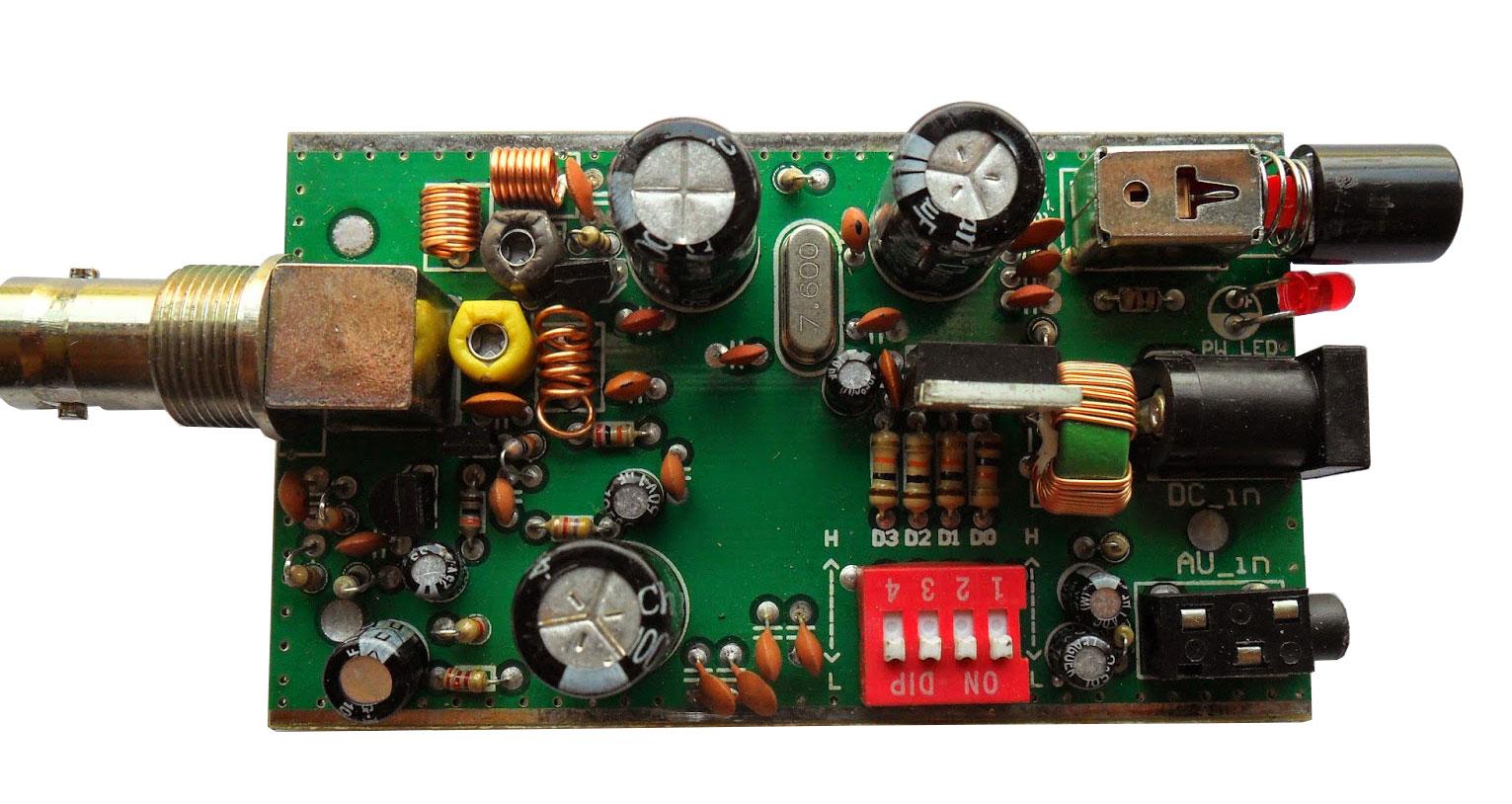 ชุดคิทเครื่องส่งวิทยุ FM 100 เมตร เพื่อการศึกษาระบบ PLL BH1417F