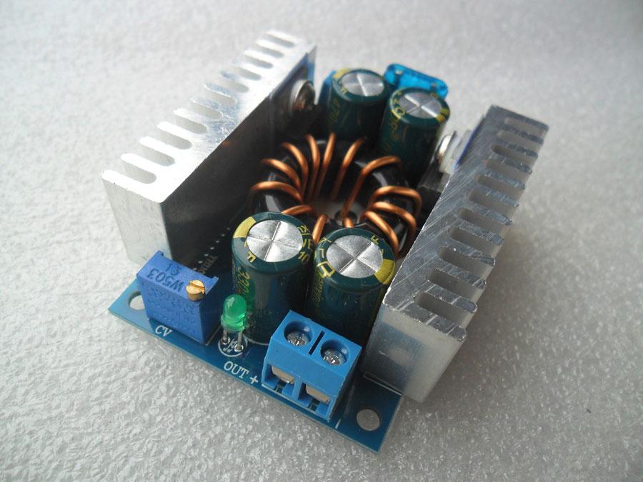 วงจรแปลงไฟ DC-DC ไฟเข้า 8-16V ไฟออก 10-32V (ปรับได้อย่างต่อเนื่อง)