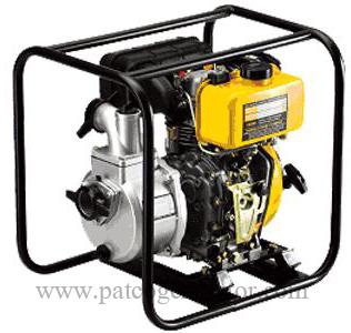 """ปั๊มน้ำติดเครื่องยนต์ดีเซล """"KIPOR"""" #KDP30E ขนาดท่อ 3"""" กุญแจสตาร์ท Diesel Pump """"KIPOR"""" #KDP30 pipe size 3"""" Electric Start"""