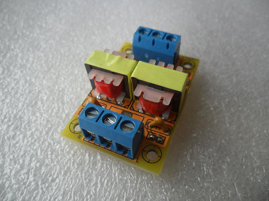 หม้อแปลง 600:600 โอห์ม สำหรับ Audio interface - DI-Box (แบบบัดกรีแล้ว)