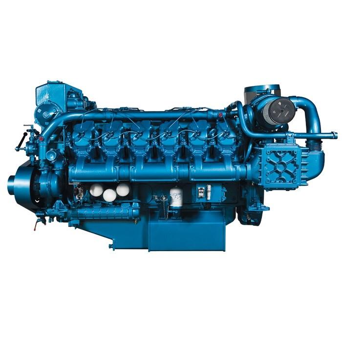 MARINE DIESEL ENGINE BAUDOUIN 12M26.3