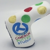 Cover Putter White Rainbow Circle T