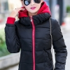 เสื้อกันหนาว พร้อมส่ง สีดำ ผ้าร่ม กันลมหนาวได้ดีเลยค่ะ อุ่นมากๆ แบบซิบรูด มีฮูทสุดเท่ห์ งานสวยเหมือนแบบแน่นอนค่ะ ฮูทสามารถถอดออกได้ค่ะ