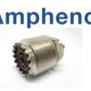 U(PL-259) F RECT. AMPHENOL Brand