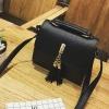 กระเป๋าสะพายข้างผู้หญิง Lovely girl สีดำ
