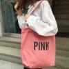 กระเป๋าผ้า LD004 PINK ฮิต!!