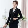 (พร้อมส่ง Size XL ) สูททำงาน เสื้อสูทสีดำ แขนยาว คอวี แต่งขลิบสีทองเก๋ มีซับใน เนื้อผ้าไม่มีความยืดหยุ่น งานสวยเหมือนแบบแน่นอนค่ะ
