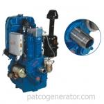 """เครื่องยนต์ดีเซล """"DELUX"""" #DH1100 ขนาด 16 แรงม้า 2300 รอบต่อนาที (Diesel Engine 16 HP 2300RPM.)"""