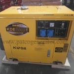 """เครื่องกำเนิดไฟฟ้า เครื่องยนต์ดีเซลขนาด 5 KVA KIPOR #KDE6500T (DIESEL GENERATOR """"KIPOR"""" #KDE6500T 5 KVA.)"""