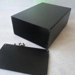 กล่องอลูมิเนียมขนาดสีดำ 80*160-220mm