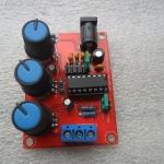 ชุดคิท XR2206 Function Generator วงจรกำเนิดความถี่พร้อมกล่องอะคริลิค