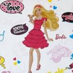 3786 Barbie วอลเปเปอร์ลายการ์ตูน