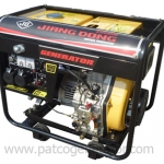 """เครื่องกำเนิดไฟฟ้าเครื่องยนต์ดีเซล """"JIANGDONG"""" #DG6500E ขนาด 5.0 KW. (Diesel Generator 5 KW.)"""