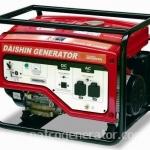 """เครื่องกำเนิดไฟฟ้าเครื่องยนต์เบนซิน """"DAISHIN-JAPAN""""ขนาด 4.8 KVA #SEB6000HSa (Gasoline Generator 4.8 KVA)"""