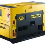 เครื่องกำเนิดไฟฟ้าเครื่องยนต์ดีเซล ขนาด 14 KVA KIPOR #KDE16SS Diesel Generator max.14 kva Super Silent