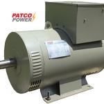"""ไดนาโมเพลาลอย """"PATCO"""" #PC15S ขนาด 15 KVA (15KW.) Altenator """"PATCO"""" #PC15S 15 KVA(15 KW.1PHASE)"""