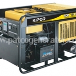 เครื่องกำเนิดไฟฟ้าเครื่องยนต์ดีเซล ขนาด 18.75 KVA KIPOR #KDE19EA3 Diesel Generator 18.75 kva 380v. Open type