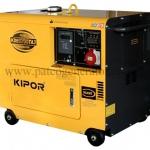 เครื่องกำเนิดไฟฟ้าเครื่องยนต์ดีเซล ขนาด 6 KVA KIPOR #KDE6700TA3 Diesel Generator 6 kva 380v.