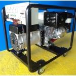"""เครื่องกำเนิดไฟฟ้าเครื่องยนต์เบนซิน """"PATCO"""" #T16F-160/A ขนาดใช้งานปกติ 7.5 KVA. 380V. (Gasoline Engine """"PATCO"""" 7.5 KVA 3 PHASE 380V.)"""