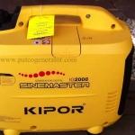 """เครื่องกำเนิดไฟฟ้าเครื่องยนต์เบนซินขนาด 2KVA KIPOR IG2000 (PORTABLE GASLOLINE GENERATOR """"KIPOR"""" # IG2000 2 KVA)"""