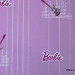 3761-1 Barbie วอลเปเปอร์ลายการ์ตูน