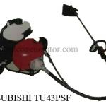 """เครื่องตัดหญ้าสะพายหลังข้ออ่อน """"MITSUBISHI"""" #TU43PSF Mover Backpack with soft joint"""