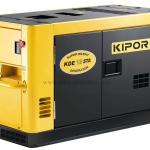 เครื่องกำเนิดไฟฟ้า เครื่องยนต์ดีเซลขนาด 9.5 KVA KIPOR #KDE12STA Diesel Generator max. 9.5 kva Silent type