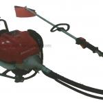 """เครื่องตัดหญ้าสะพายหลังข้ออ่อน """"PATCO"""" #GX35-BS Mower backpack of a soft joints powered by honda"""