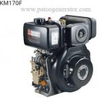 """เครื่องยนต์ดีเซลอเนกประสงค์ """"KIPOR"""" #KM170F ขนาด 4.7 HP (Diesel Engine For Multi purpose 4.7 hp)"""