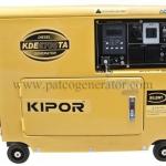 """เครื่องกำเนิดไฟฟ้า เครื่องยนต์ดีเซลขนาด 5 KVA KIPOR #KDE6700TA (DIESEL GENERATOR """"KIPOR"""" #KDE6700TA 5 KVA.)"""