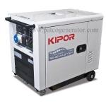 เครื่องกำเนิดไฟฟ้า เครื่องยนต์ดีเซลขนาด 5.5 KVA KIPOR #ID6000 DIESEL GENERATOR MAX. 5.5 KVA 220V.